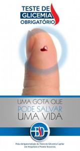 Campanha pelo teste de glicemia obrigatório em hospitais